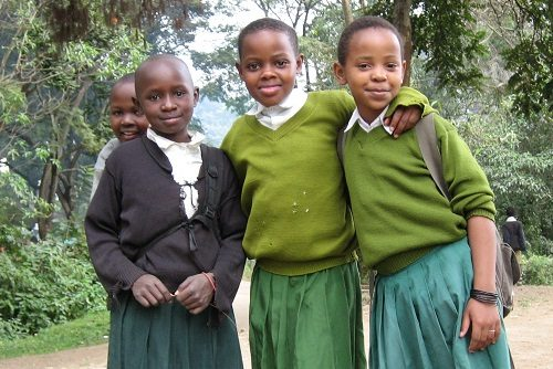 School Kids in Tanzania