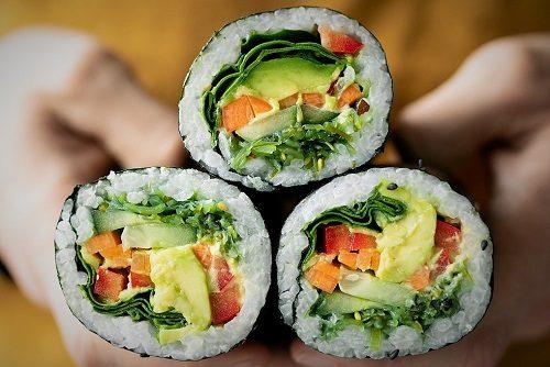 Vegan Sushi Burritos