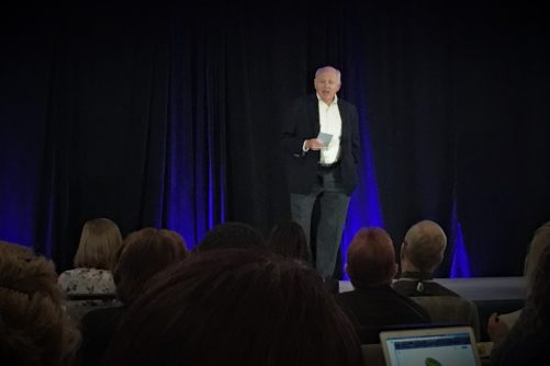 Ted Kyle in YWM2019 Opening Session