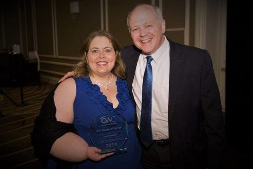 Sarah Bramblette Honored with OAC Member of the Year Award