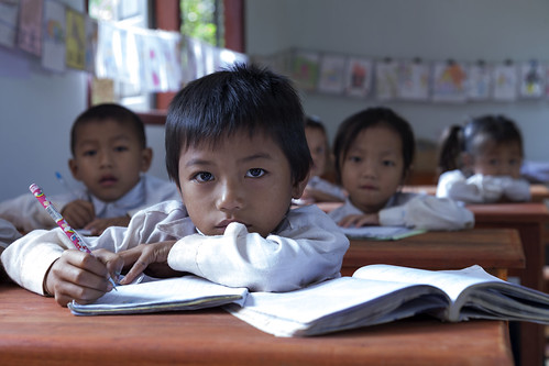 At School in Laos