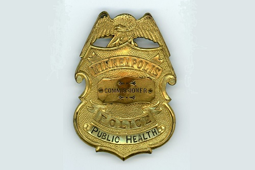 Public Health Commissioner's Badge