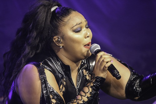Lizzo in at the Palace Theater in St Paul