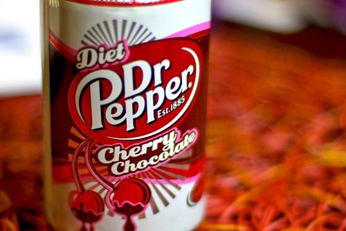 Cherry Chocolate Diet Dr Pepper