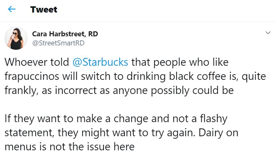 No Milk at Starbucks