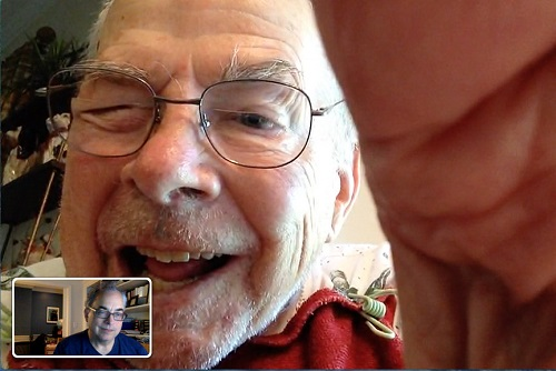 Facetime with Dad