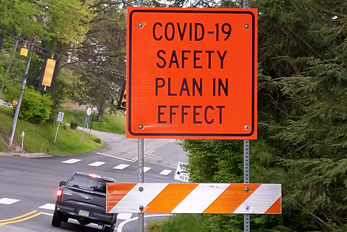 COVID-19 Safety Plan in Effect