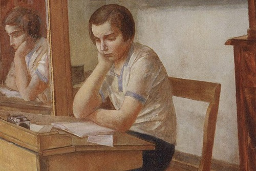 The Girl at the Desk