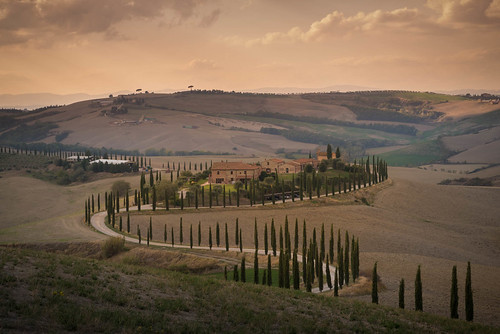 A Long and Winding Road in Tuscany