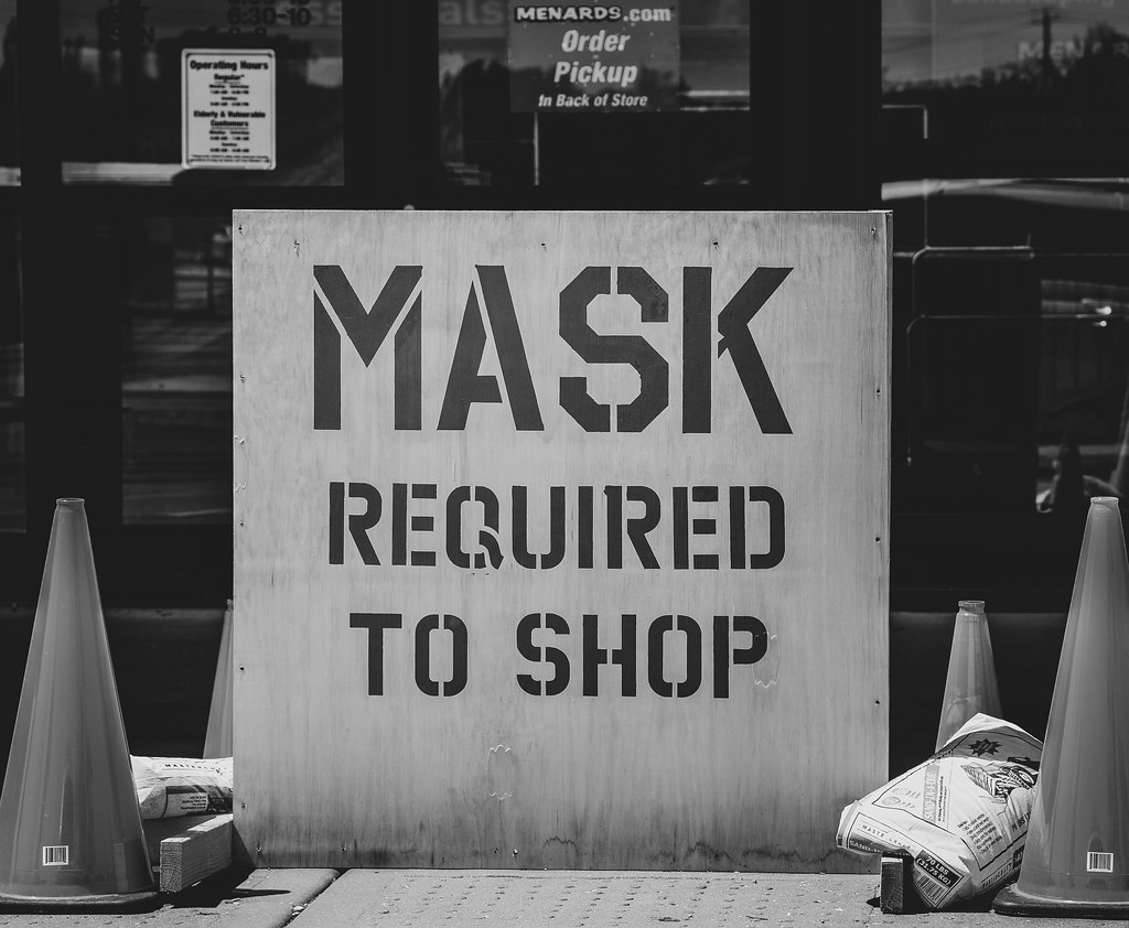 Mask Required for Food Shopping