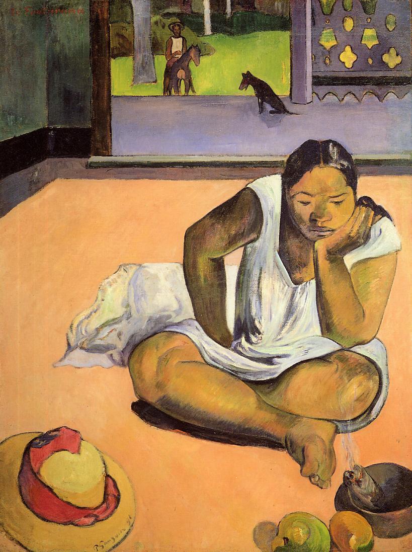 Brooding Woman