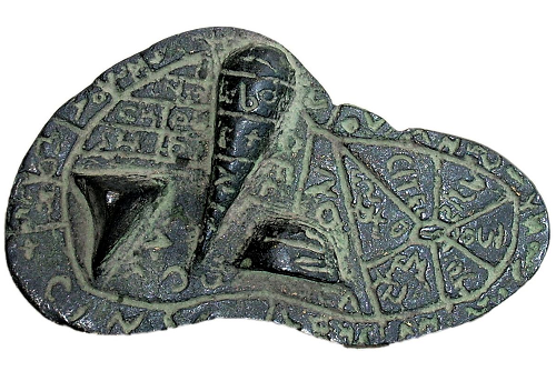 Bronze Reproduction of the Liver of Piacenza