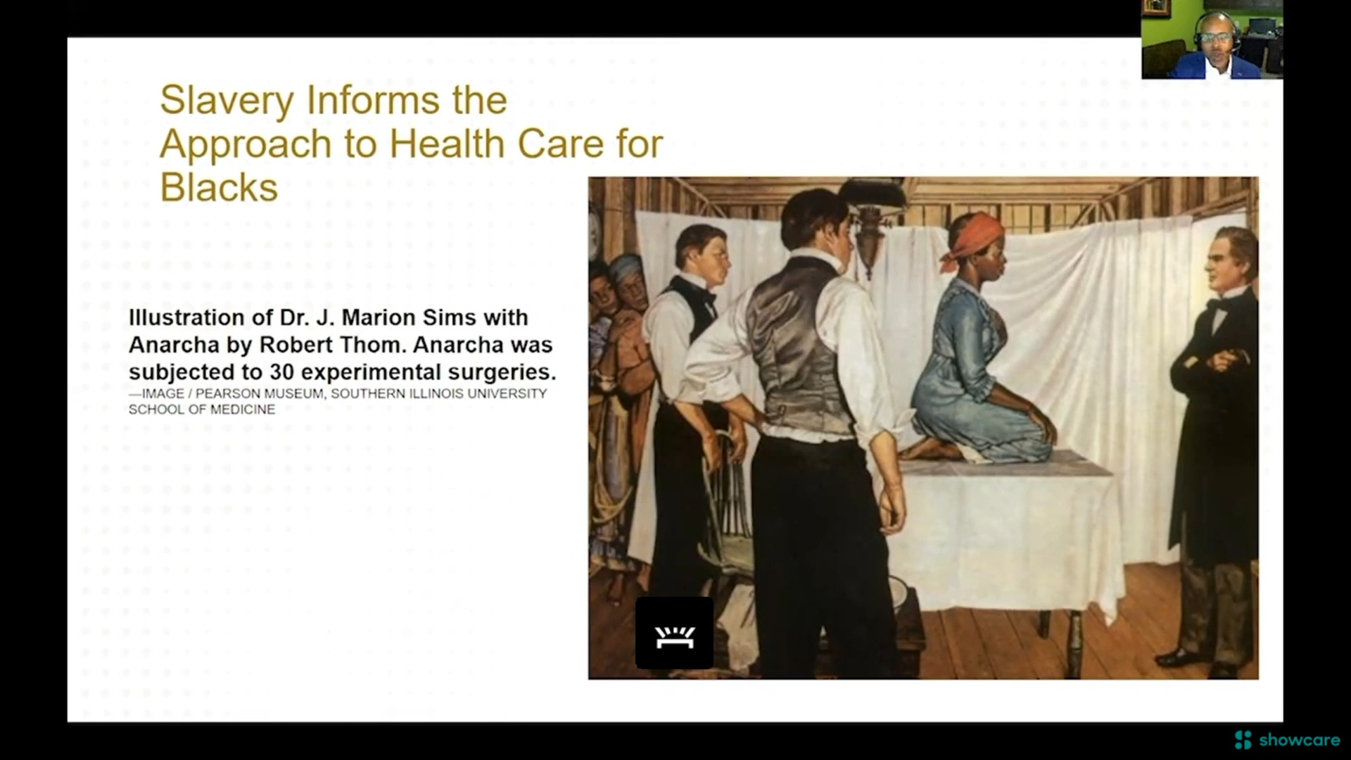Slavery Informs the Approach to Healthcare for Blacks