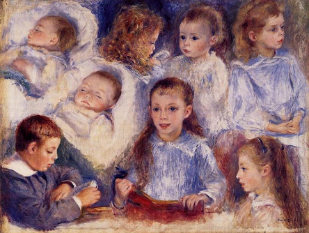 Studies of the Children of Paul Berard