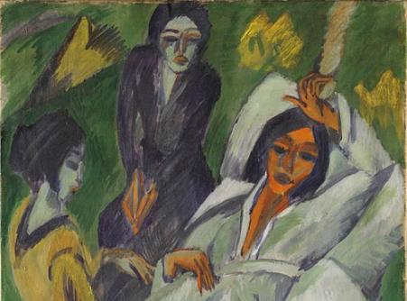 Women Having Tea (The Sick Woman)