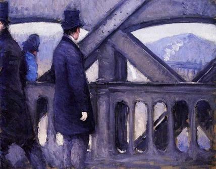 The Pont de Europe (study)