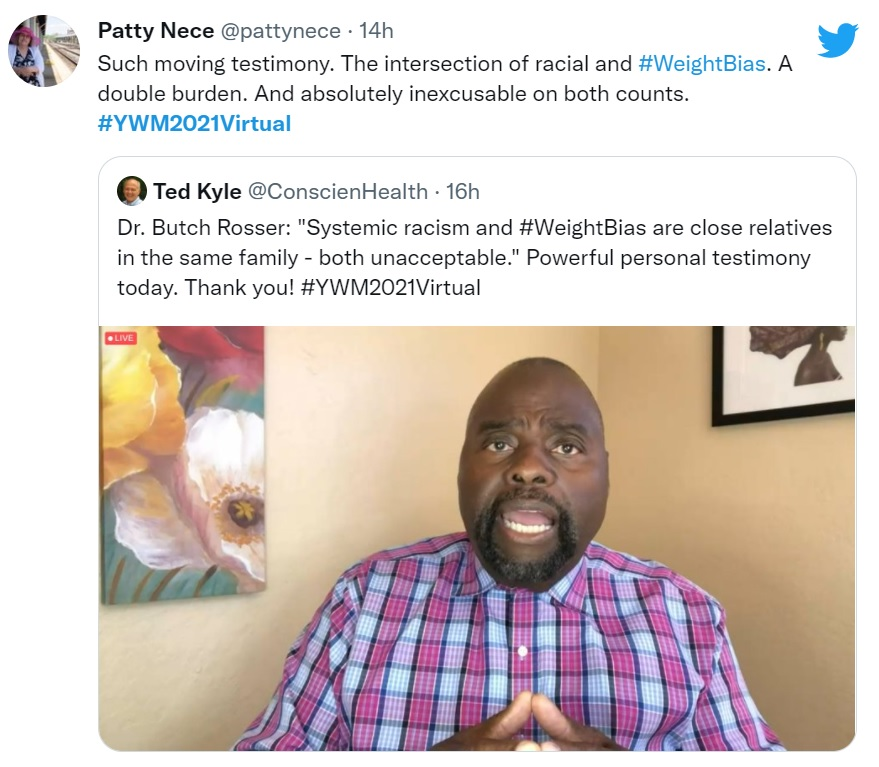 Dr. Butch Rosser on Racism and Weight Bias