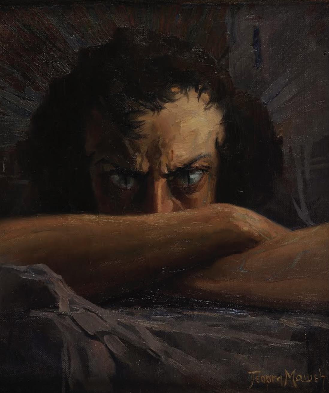 Outcast (Self-Portrait)
