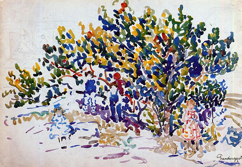 Children in the Tree