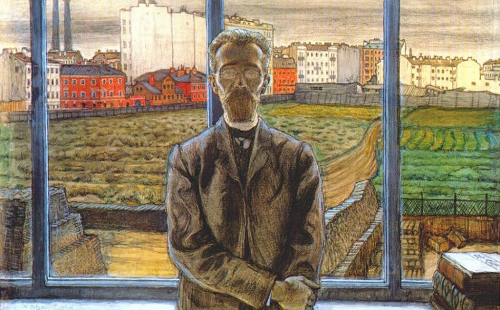 Portrait of the Art Critic