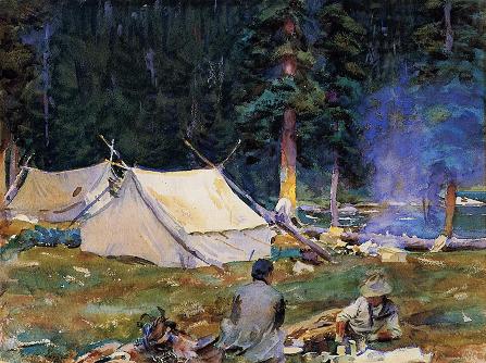 Camping at Lake O-Hara